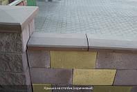 Крышки на забор бетонные