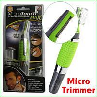 Триммер Micro Touches Max для удаления волосков из носа, ушей, бороды Микро тач