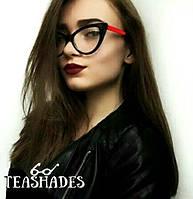 Имиджевые Очки Лисички от Teashades - M&S Chanel Bershka Mango H&M Versace Benetton  Dior Zara