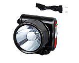 Налобный фонарь на аккумуляторе YJ-1829-5/ 5 LED (120 шт/ящ), фото 2