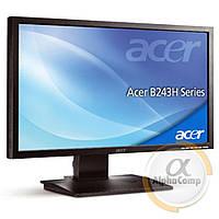 "Монитор 24"" Acer B243H (TN/VGA/DVI) class A БУ"