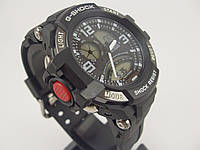 Часы Casio G-Shock GA-1000 5302 черные с серебром водонепроницаемые