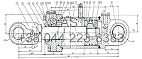 ЦИЛИНДР  ПОДЪЕМА - CF160/80/880