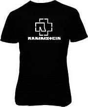 Наклейка на ткань Rammstein (цена за размер 12х20 см)