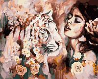 Картина по номерам Характер тигрицы