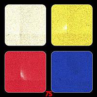 Светоотражающая наклейка 41х41 мм, фликер, катафот, светоотражатель на самоклейке