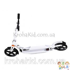 Самокат Urban Scooter SR 2-017 (Черный) / SR 2-018 (Белый) Взрослый, 2 колеса ПУ 200мм; высота руля 95-105 см, фото 2