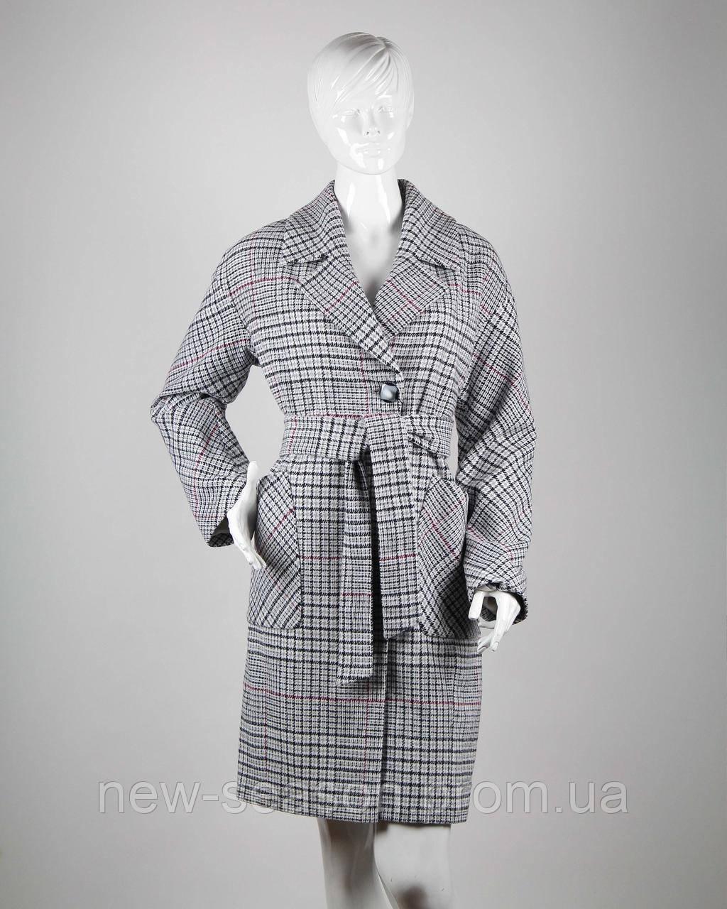 Пальто демисезонное шерстяное TIARA M-392