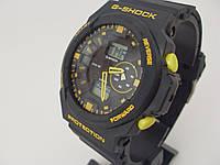 Часы Casio G-Shock GA-150 5255 черные с желтым водонепроницаемые