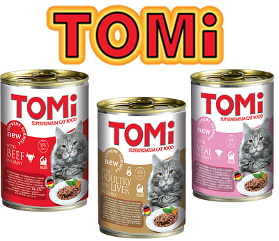 Консерви Tomi для кішок (Німеччина)