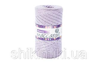 Трикотажный плоский шнур Ribbon Glitter, цвет Лавандовый