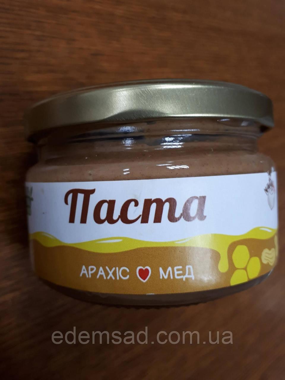 """Арахисовая паста с домашним медом и гималайской солью """"Nutty Boom"""", 250г"""