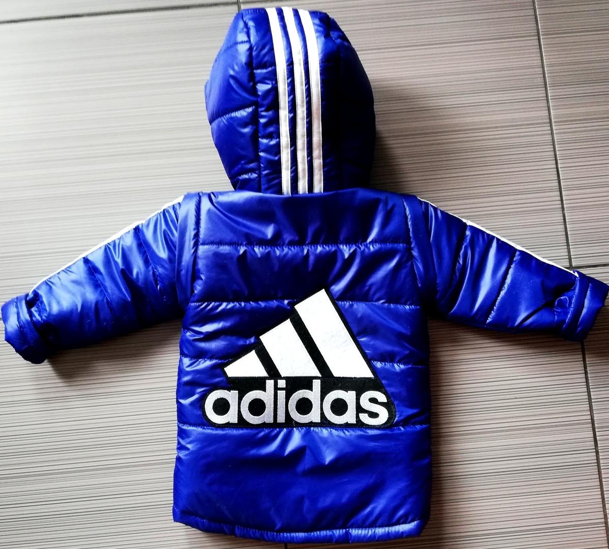 Демисезонная детская куртка Адидас с отстегными рукавами ПОШИВ ПОД ЗАКАЗ