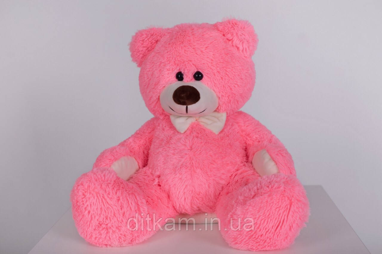 Мягкая игрушка Медведь Джеймс (65см)Розовый
