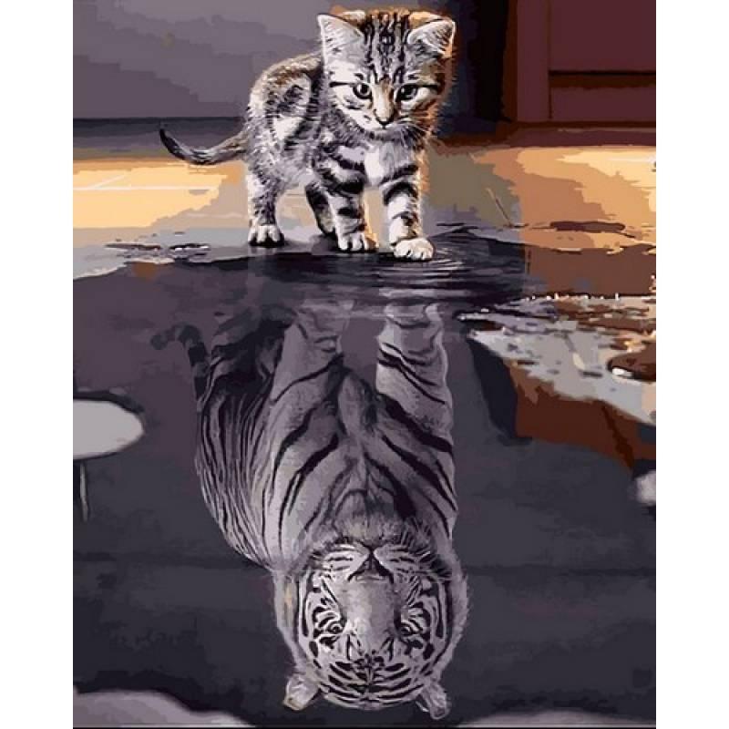 Картина по номерам Верь в себя, 40x50 см., Mariposa