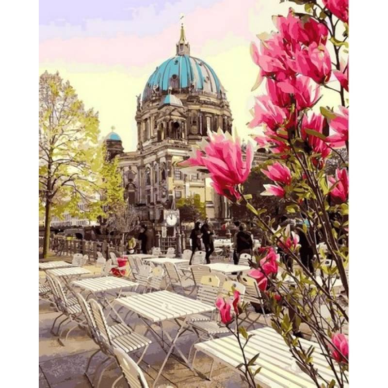 Картина по номерам Берлинский кафедральный собор, 40x50 см., Mariposa