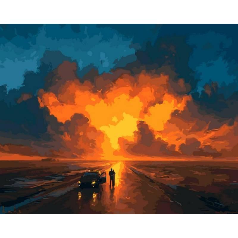 Картина по номерам Представление небес, 40x50 см., Babylon