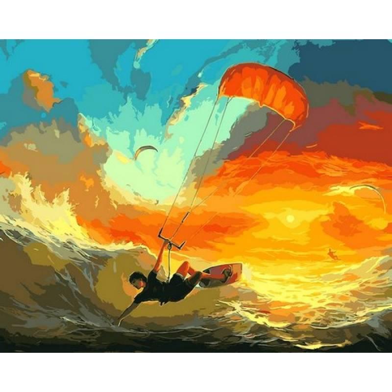 Картина по номерам Повелители ветра, 40x50 см., Babylon
