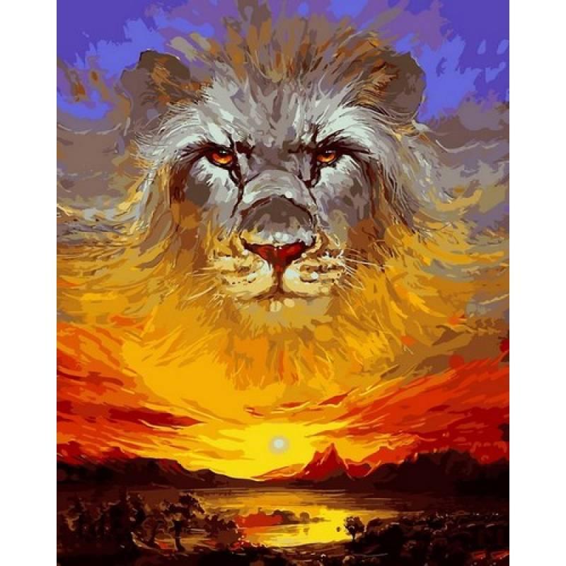 Картина по номерам VP1082 Лев Аслан. Хроники Нарнии, 40x50 см., Babylon