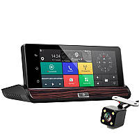 DVR регистратор с GPS навигацией и 3G. Android, Экран 7.0, Wi-Fi, Bluetooth. Модель ЕА-400