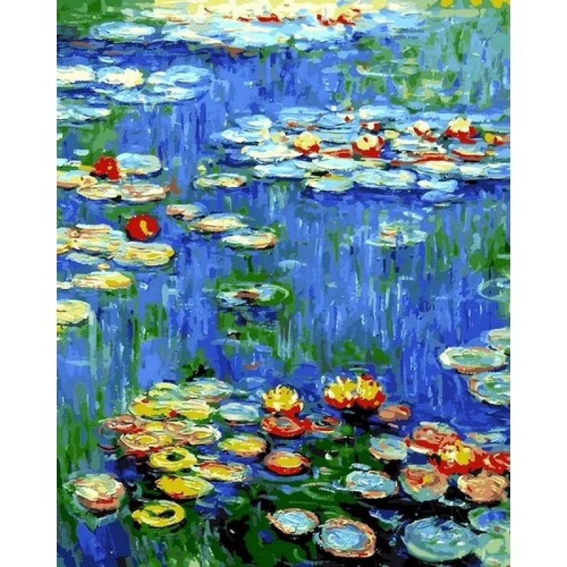 Картина по номерам Водяные лилии, 40x50 см., Babylon