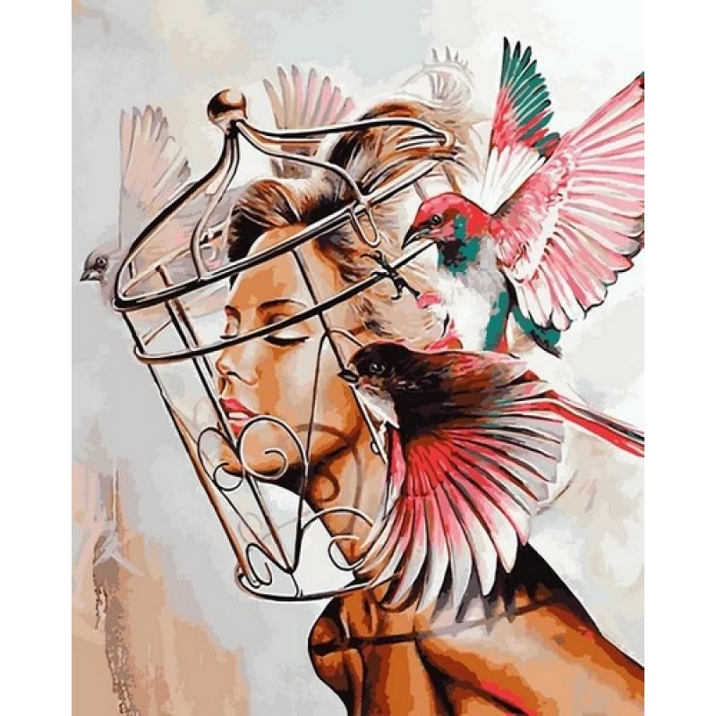 Картина по номерам Мечты, 40x50 см., Babylon