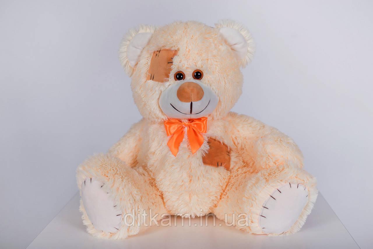 Мягкая игрушка Медведь Теодор (65см)Персиковый