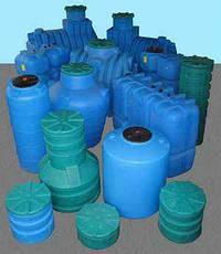 Емкость вертикальная  RV 500у   RotoEuroplast (2-слойная), фото 3