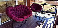Комплект меблів REST, меблі з ротангу, диван + стіл + крісло + подушки, фото 1