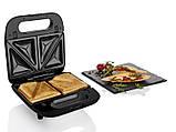 Сендвичница - вафельница - гриль Silver Crest Мультимейкер 3 в 1 (Германия), фото 4