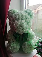 "Декор-подарок ""Мишка из роз"", 36 см, фото 1"
