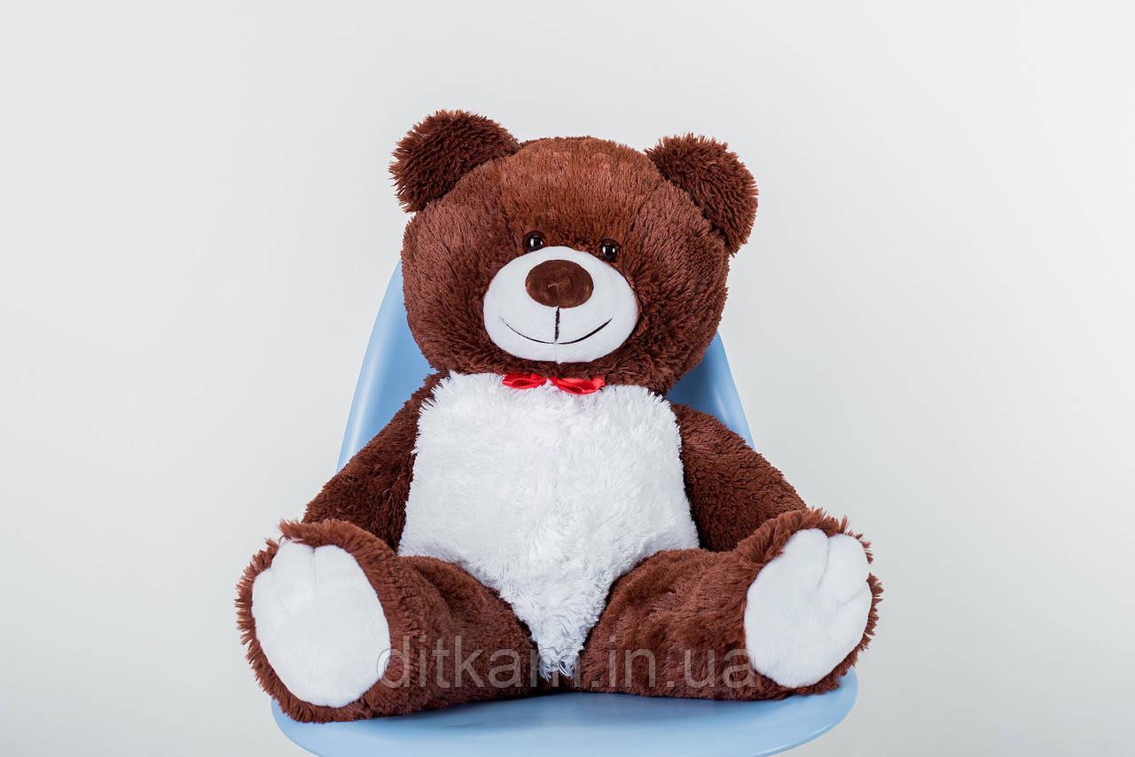 Мягкая игрушка Медведь Джимми (90см)Шоколадный