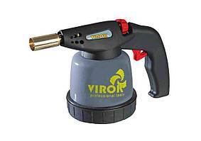 Лампа паяльная газовая с п`езозапалом  под баллон 190 г  - VIROK