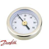 "Термометр для гребенки 1"" Данфосс. Термометр 0-60 °С. Устанавливается в кран Данфосс."