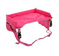 Детский столик для автокресла Розовый