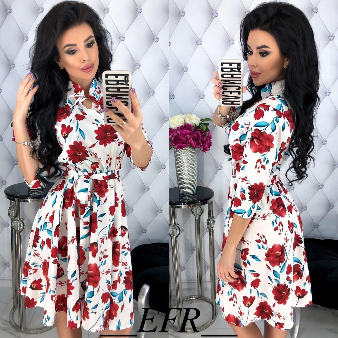Платье свободная юбка,на талии резинка и отдельно пояс