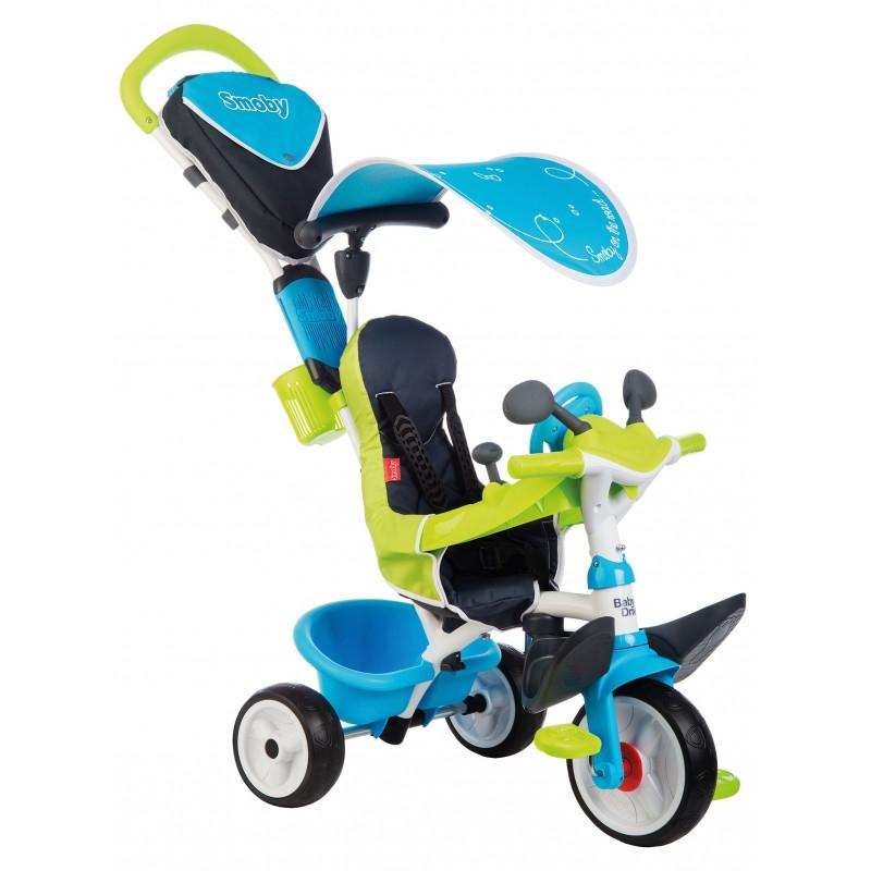 Велосипед триколісний 3 в 1 Baby Balade Smoby 741200