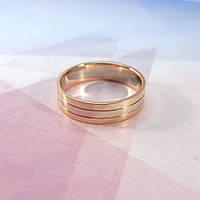 """Золотое мужское кольцо в стиле """"Картье"""""""