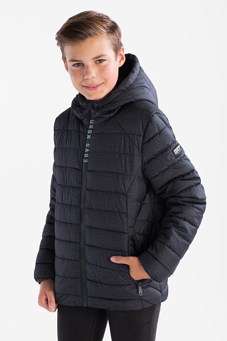 Серая подростковая куртка для мальчика C&A Германия Размер 146