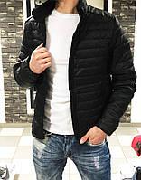 Куртка мужская стеганая демисезонная черная