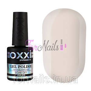 Гель-лак OXXI №030, (светло-серый,эмаль), 10 мл