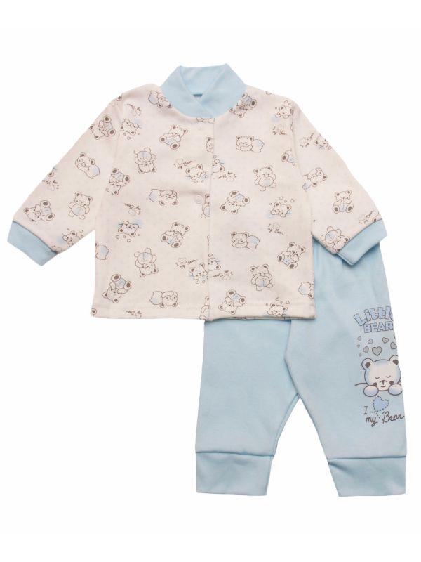 Комплект ясельный кофточка и штанишки для мальчика или девочки