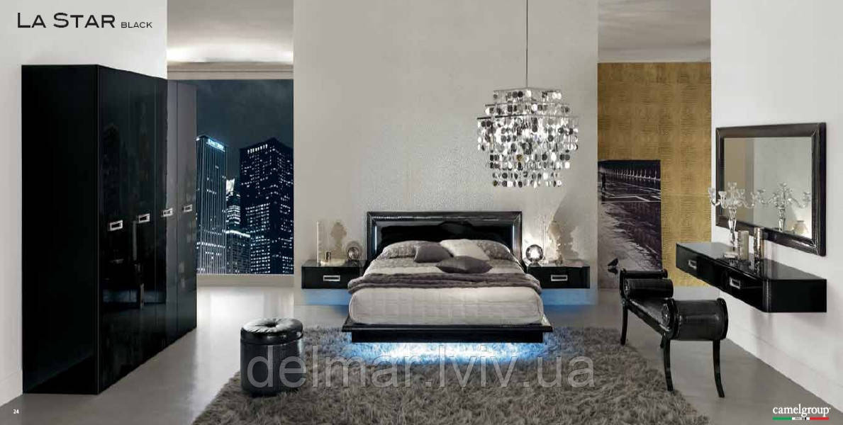 """Спальня """"La STAR black"""" (ITALY)"""