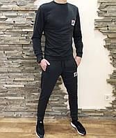 Весенний мужской костюм FILA Фила темно-серый (реплика)