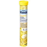 Витамины шипучие Edeka Elkos Vitamin C + Zink, Selen, Vitamin D3 Германия (17 шт)