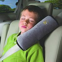 Подушка на ремень безопасности в авто. Три цвета