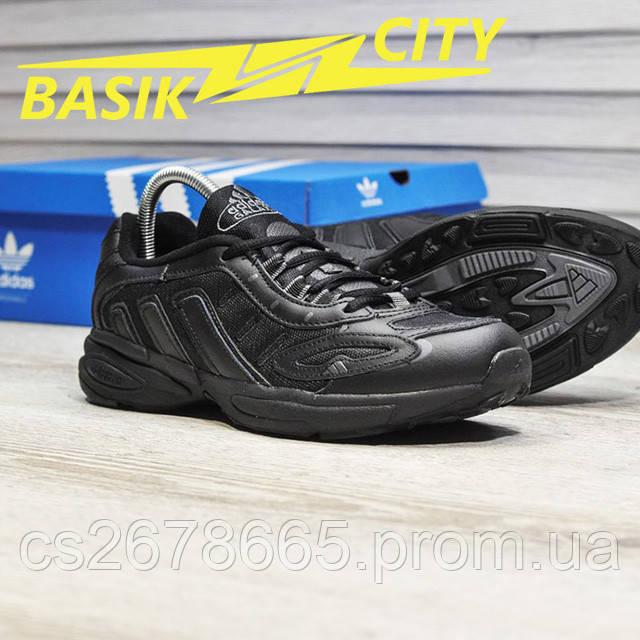 Мужские кроссовки Adidas Galaxy K Triple Black картинка