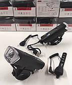 Фара-фонарь велосипедный Luxury HJ-047-XPG (USB\+СИГНАЛ+ВОДОЗАЩИТА)