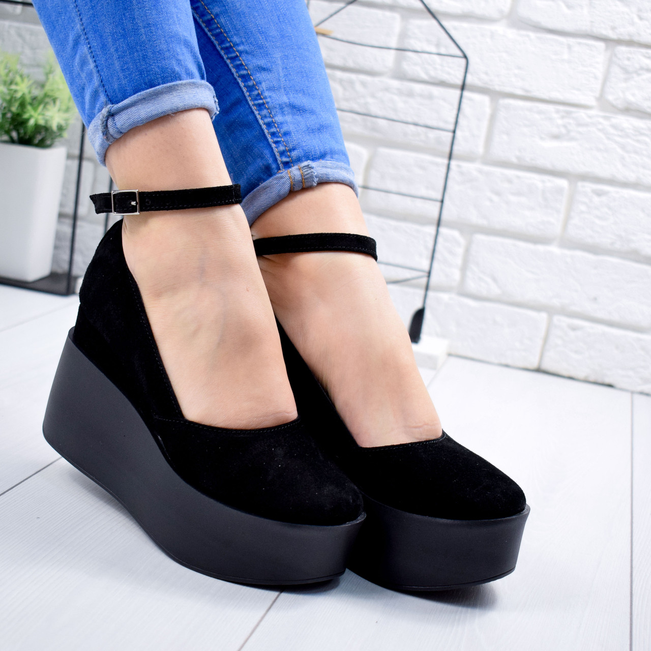 Туфли женские Rixo черные 7008