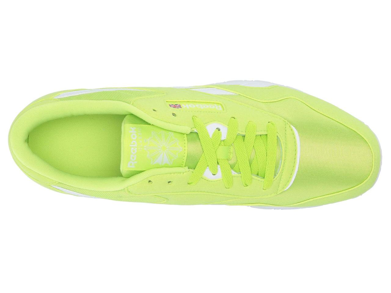 0a5060312a5f ... Кроссовки/Кеды (Оригинал) Reebok Lifestyle Classic Nylon Color Neon Lime /White, ...